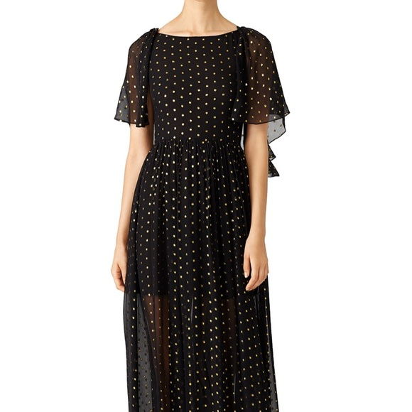 Rebecca Minkoff Dresses & Skirts - Rebecca Minkoff gold dot ethereal gown